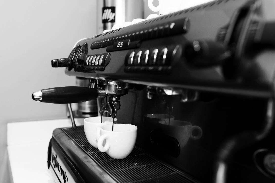 Coffee preparation at Le Méridien Barcelona